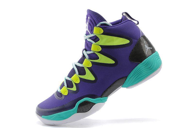 outlet store 1b046 93af4 air jordan 28 blue   air jordan basketball shoes   Air ...
