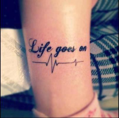La Vida Sigue Tatuajes Pinterest 문신 손목 문신 Y 디자인