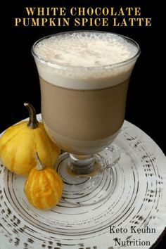 Are you looking for a different kind of pumpkin drink this year? How about one that's super easy to make. If so try a White Chocolate Pumpkin Spice Latte.  Are you looking for a different kind of pumpkin drink this year? How about one that's super easy to make. If so try a White Chocolate Pumpkin Spice Latte.