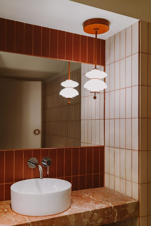 Restaurant Interior In Warsaw By Buck Studio Restaurant Bathroom
