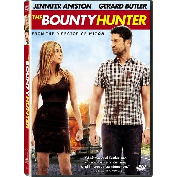 The Bounty Hunter Dvd Liked On Polyvore Featuring Movies