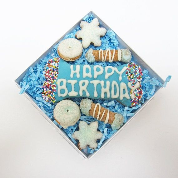 Little Boy Blue Birthday Gras Dog Treat-http://europug.eu/product/little-blue-birthday-treat/
