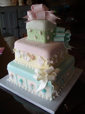Baby Shower Cake By Angel Cake26 Via Httpawesome Cake Photo