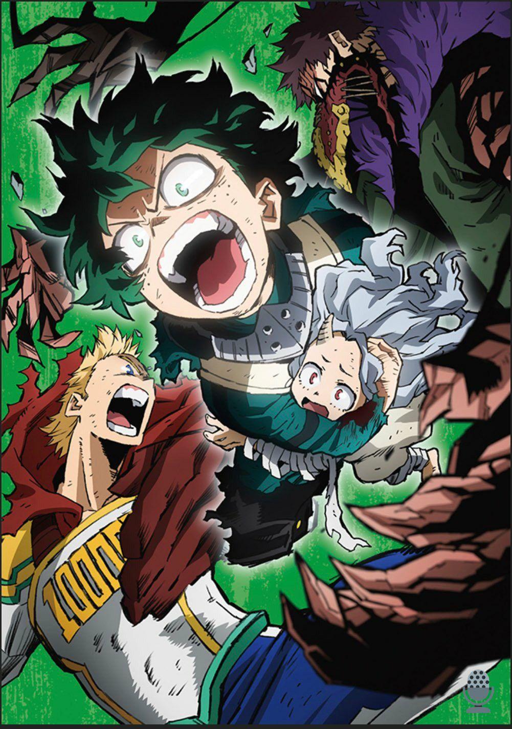 My Hero Academia Season 4 Blu Ray And Dvd Box Cover Art Hero Wallpaper My Hero Anime