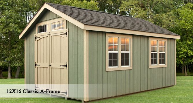 sheds storage sheds for york and harrisburg pa glick sheds - Storage Shed House