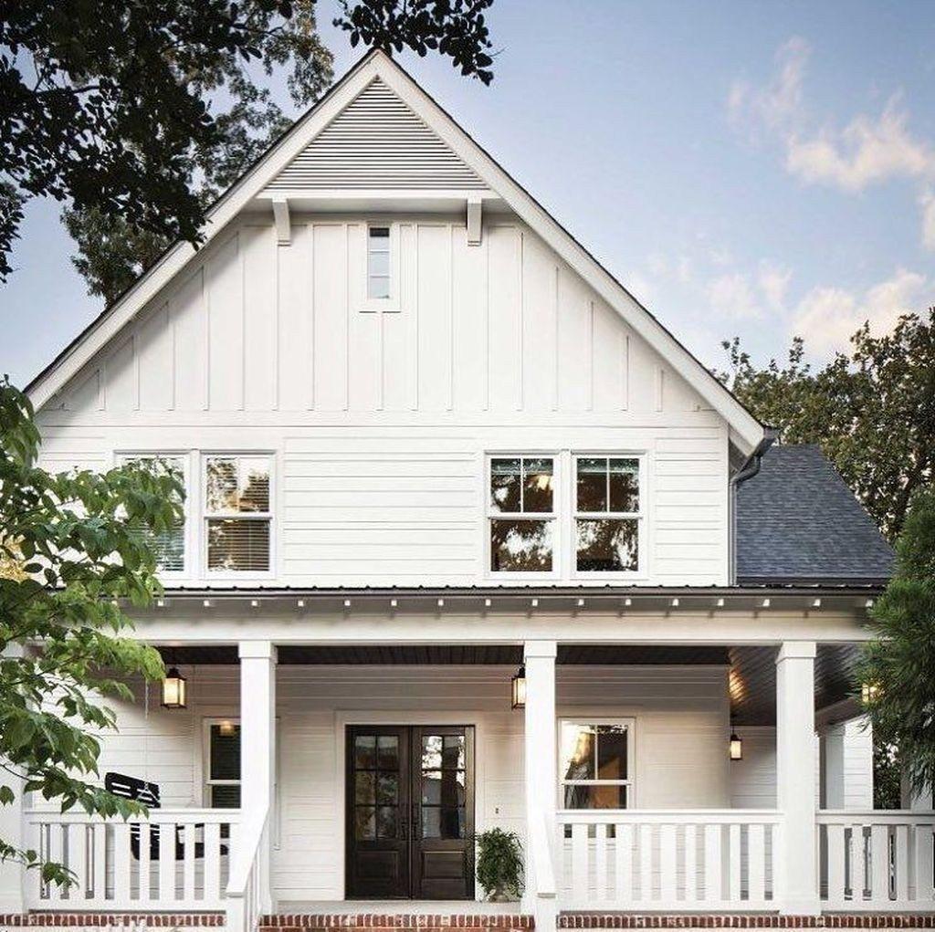 39 Luxury White Farmhouse Design Ideas You Must Copy