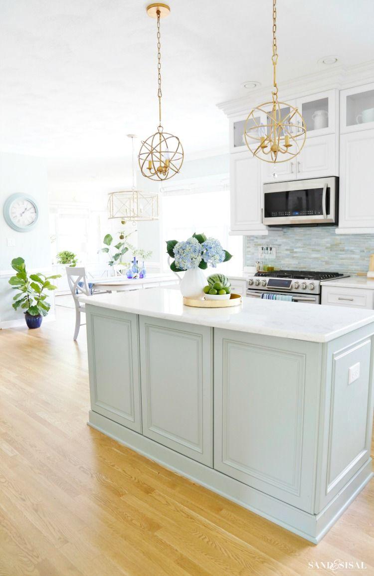Summer coastal kitchen kitchen ideas pinterest coastal