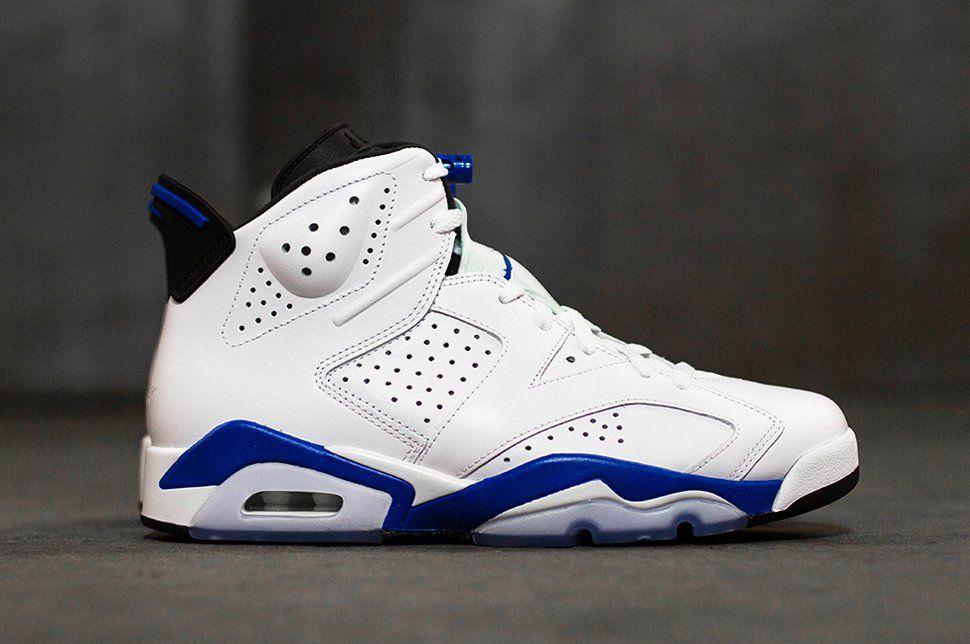"Air Jordan 6 Retro ""Sport Blue"" (Releasing) EU Kicks"