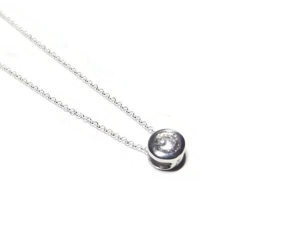 Photo of necklaces for women – cz necklace – sterling silver necklace – dainty necklace – minimalist necklace – 925 necklace – silver jewelry K11285