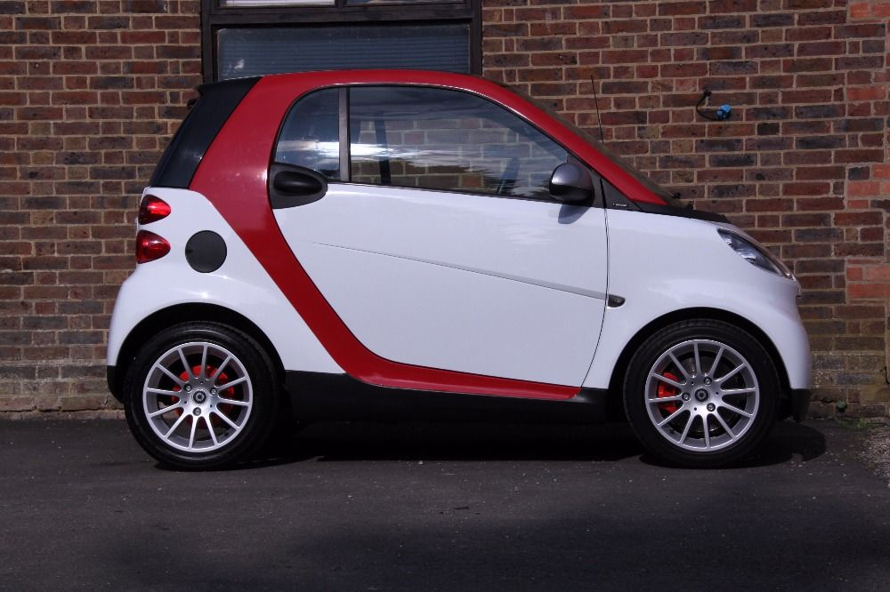 smart car white red | automobile motorcycle | Pinterest | Smart car ...