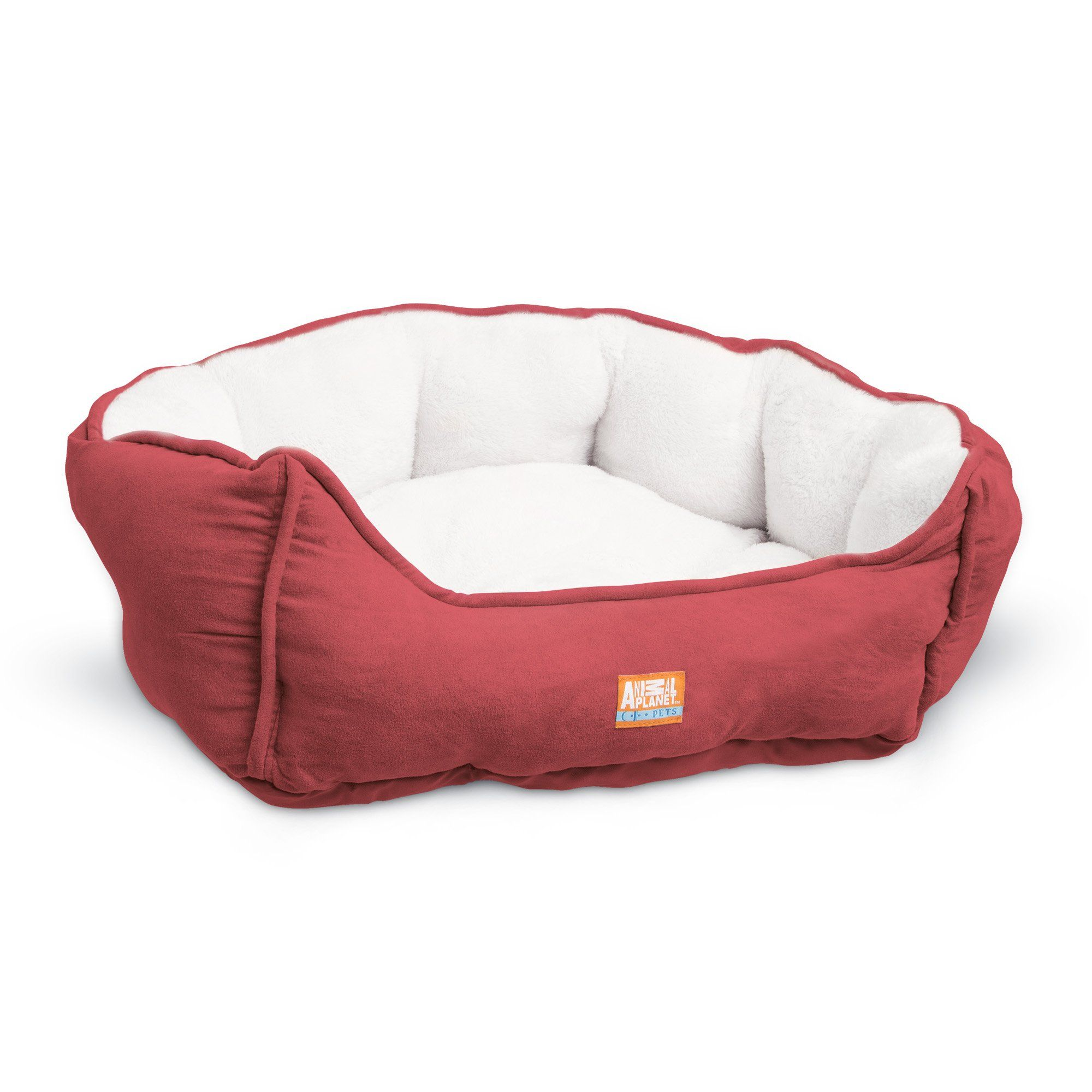 Animal Planet Round Plush Micro Suede And Sherpa Bolster Pet Bed Dogs And Cats Puppies Small And Toy Breeds Cuddly Dog Pet Beds Dog Bed Furniture Dog Sofa Bed