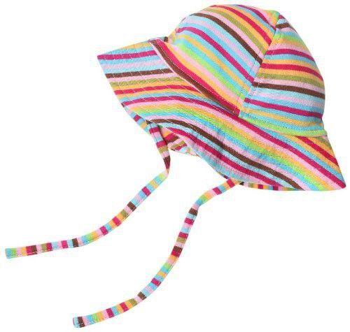 df7406ec2c2 Zutano Baby Girls  Primary Stripe Sun Hat  babysunhats