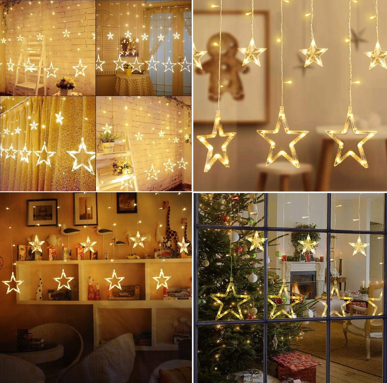 Lampki Choinkowe Led Wiszace Gwiazdy Girlanda 3m 7671203855 Allegro Pl Wiecej Niz Aukcje Table Decorations Decor Home Decor