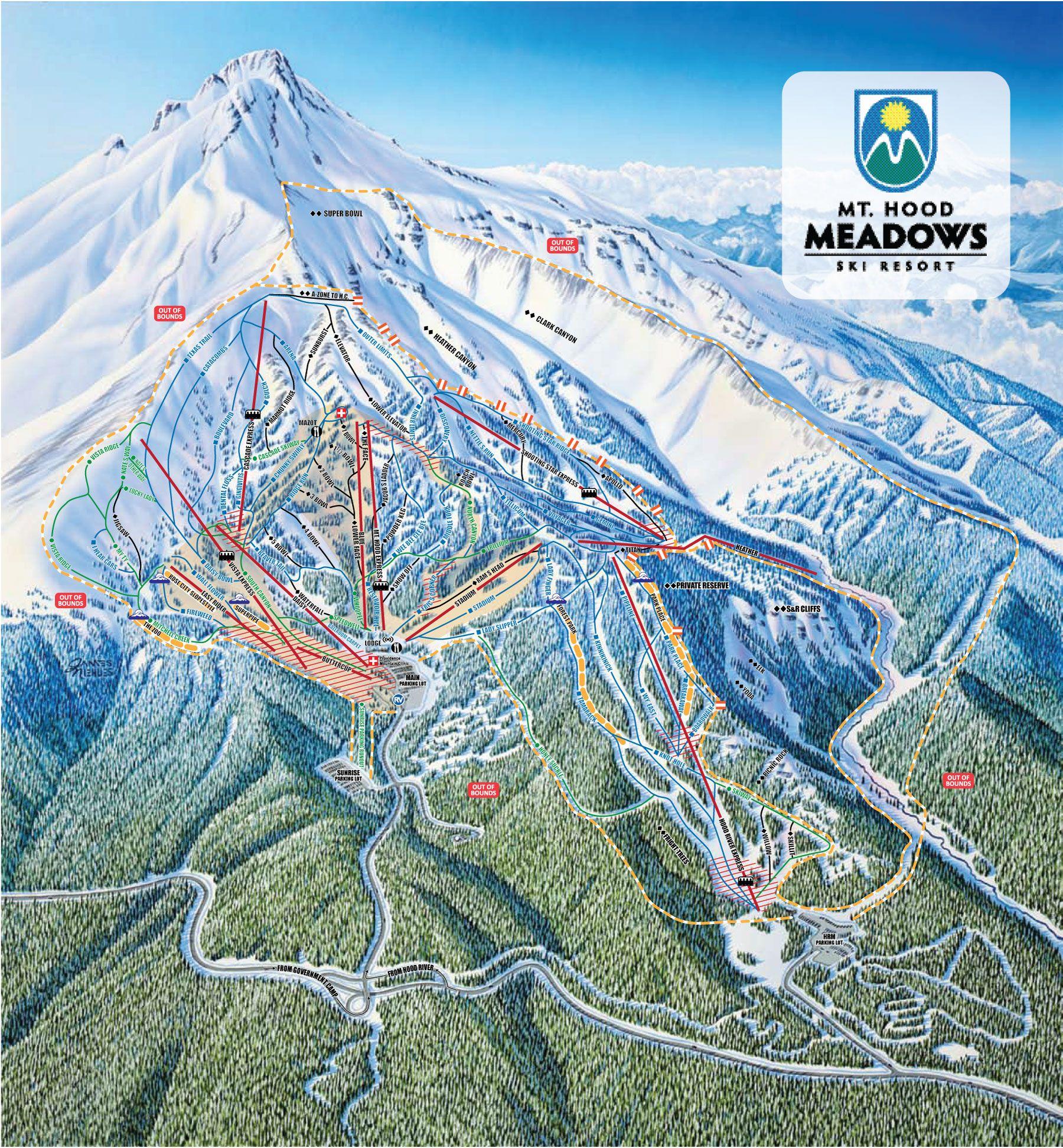 mt. hood meadows ski resort, oregon. | i have been blessed