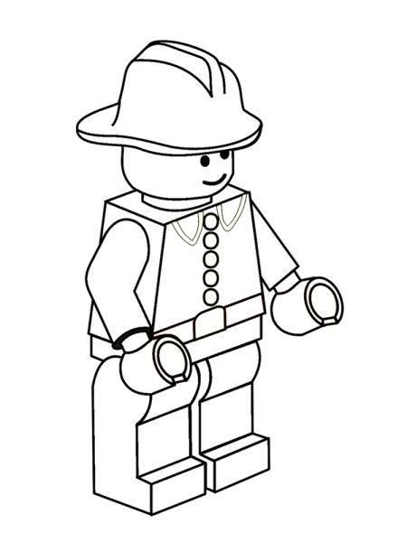 Coloriage Lego 20 Dessins à Imprimer Gratuitement лего