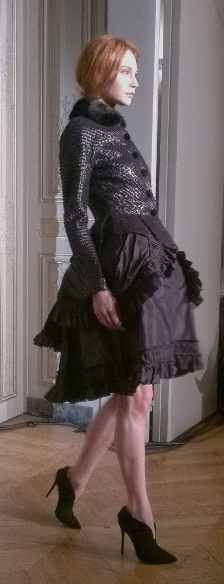 Yanina's presentation Haute Couture A/W 14.15