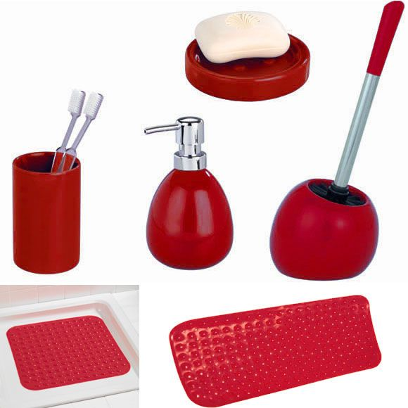 red bathroom accessories sets. Red Bathroom Accessories Uk Home Design