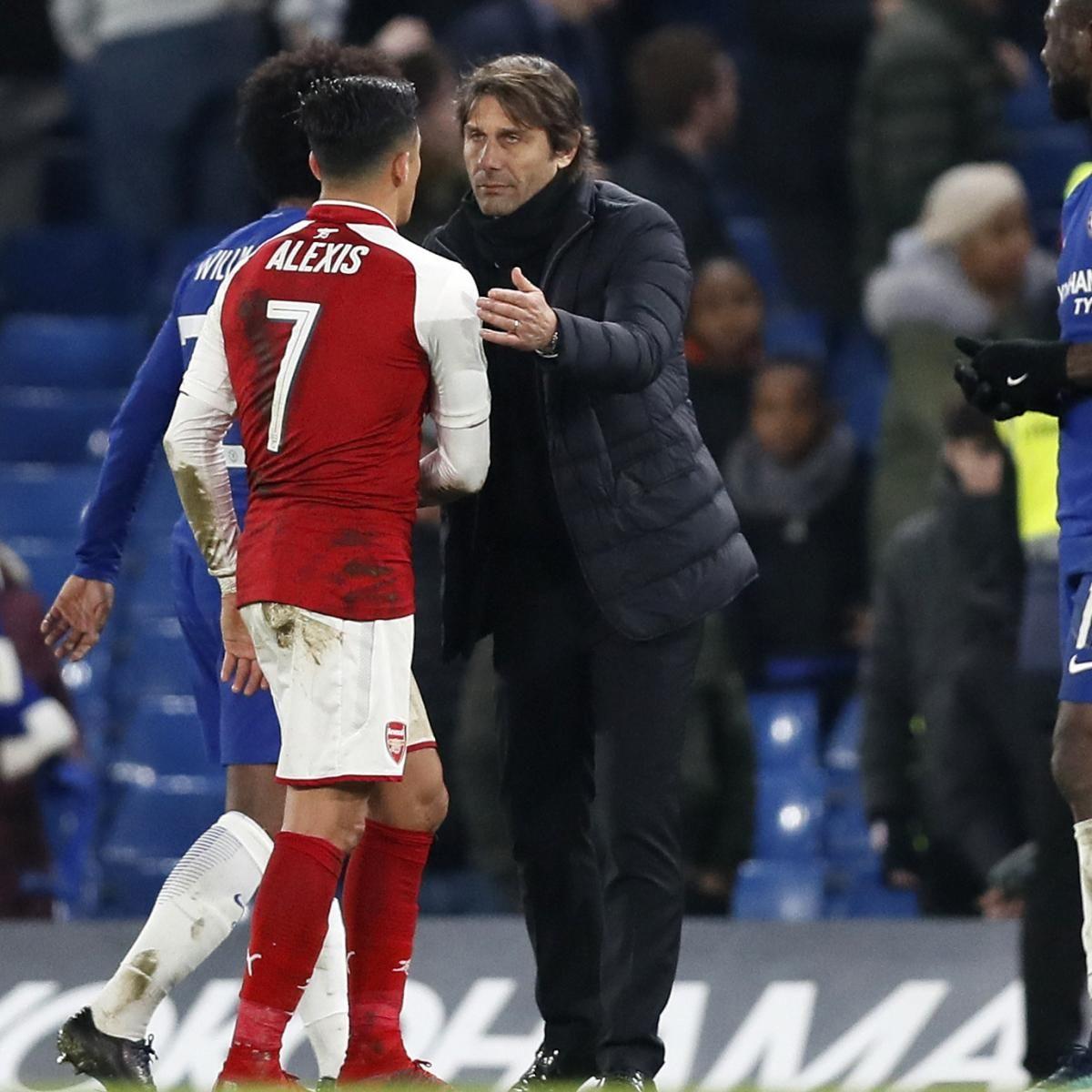 Chelsea Transfer News: Antonio Conte Reportedly Wanted Alexis Sanchez Deal