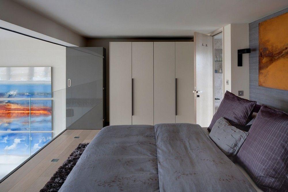 Двухуровневая квартира с красивым видом на Лондон ...