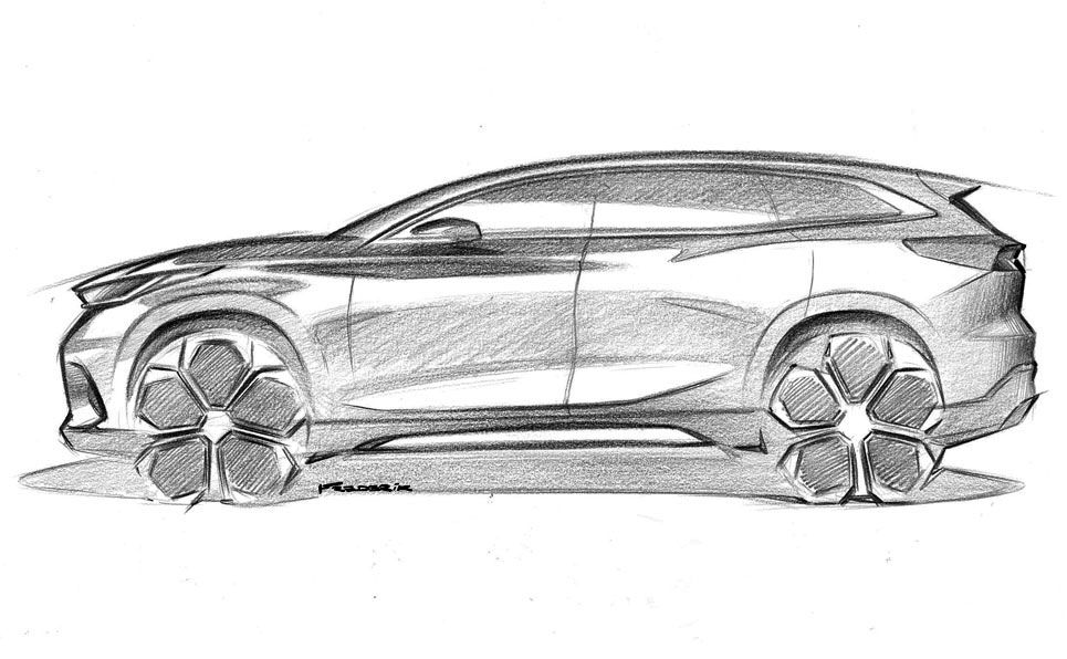 Chery Suv Pencil Design Sketch With Images Car Design Sketch