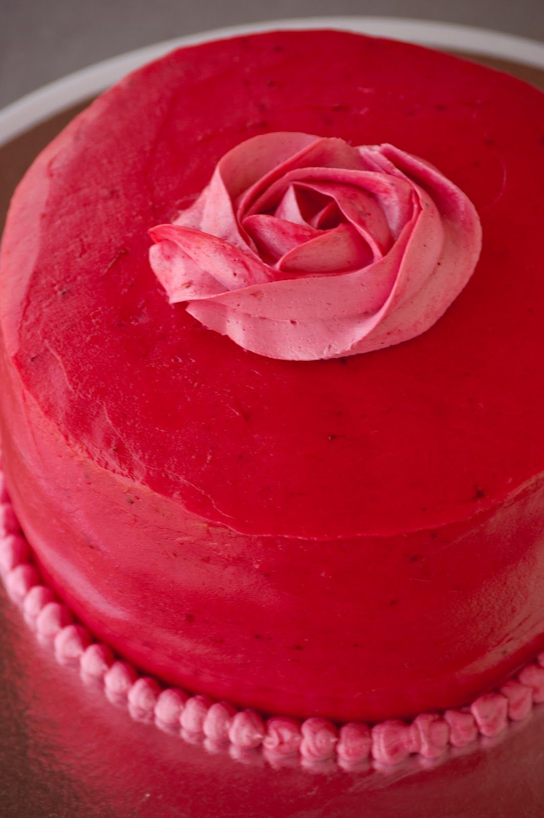 Cupcakes are my new love: Pink Strawberry Cake