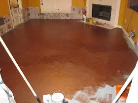 How To Paint A Cement Floor With Chic Painted Floors Do It Yourself Painting Concrete In Laundry Room Images Of