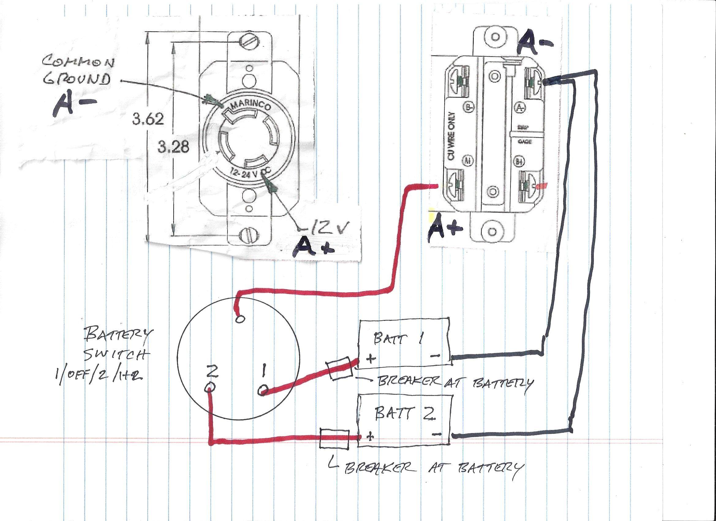 Marinco Plug Wiring Diagram Best Of 4 Prong Trolling Motor New 2 Trolling Motor Outboard Boat Motors Minn Kota