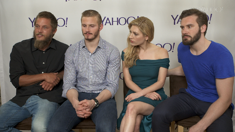Vikings' Cast: 'People Are Going To Be Shocked When They Watch ...