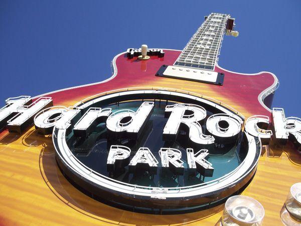 Hard Rock Park Electrosonic Middle East Hard Rock Park Theme
