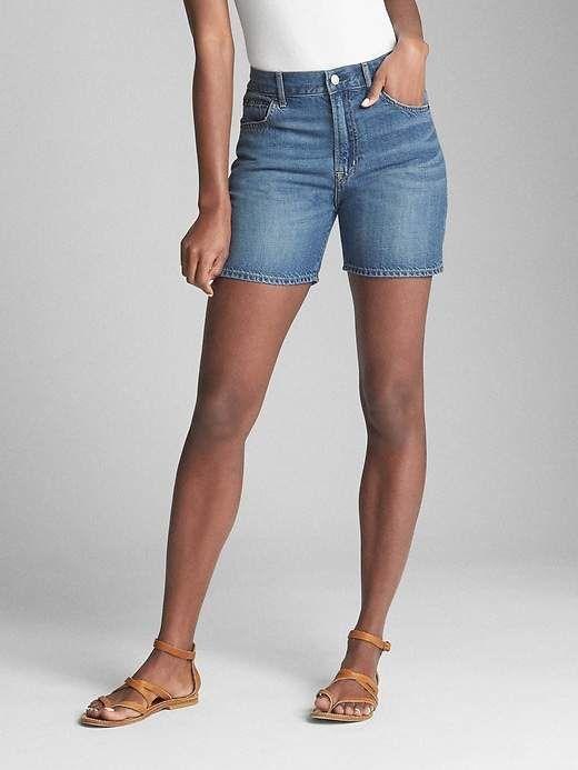 601529280c Gap Wearlight 5 Relaxed Denim Shorts | Celebrity style | Denim ...
