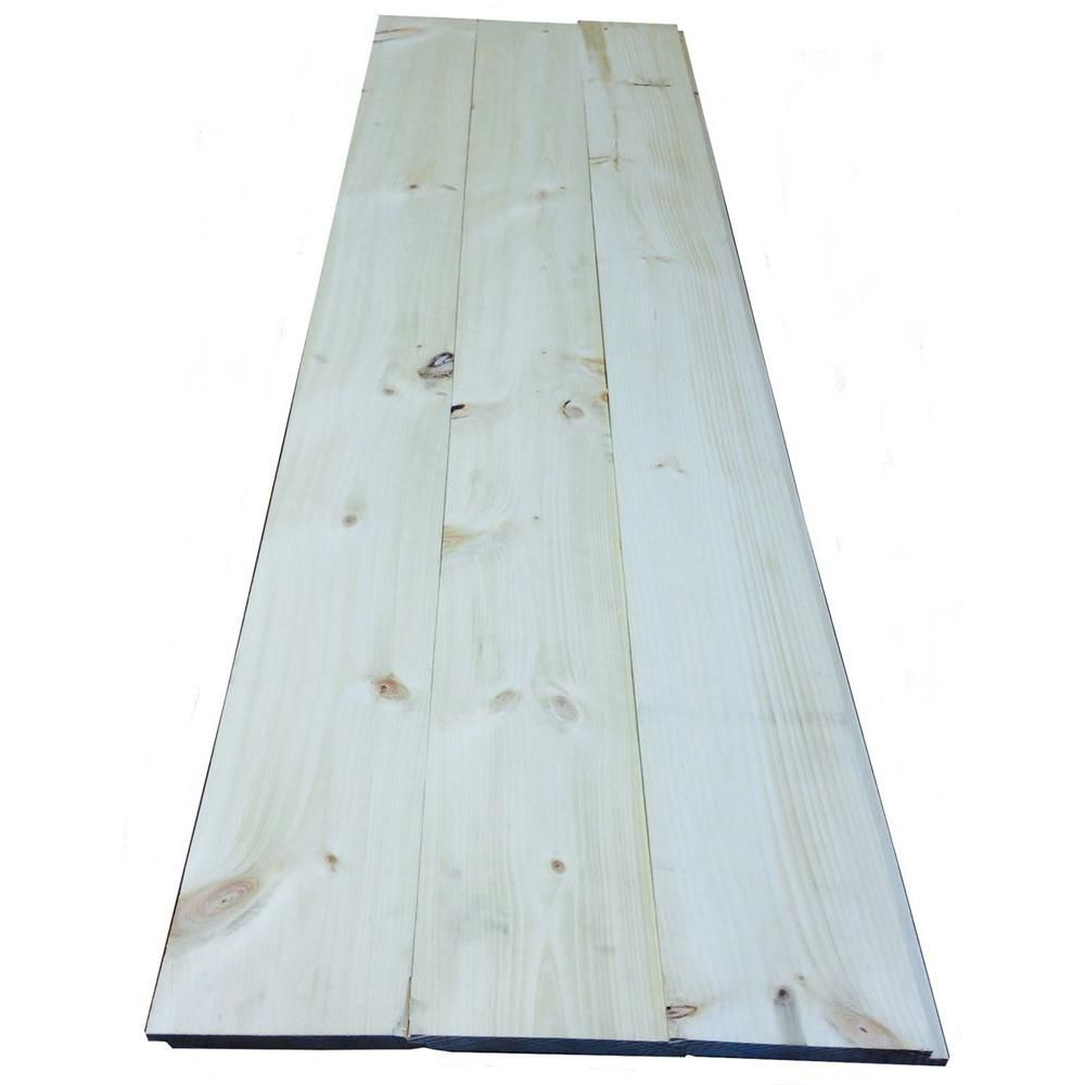 1 In X 8 In X 8 Ft Premium Eastern White Pine Shiplap S1s 3 4 Rufferhead Siding 3 Piece Box Ehd0022828 Shiplap Eastern White Pine Wood Siding