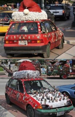 Christmas Car Decorations.Christmas Car Decoration Christmas Car Decorations
