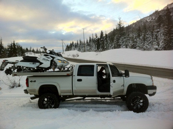 Sled Deck Snowmobile Chevy Trucks Truck Bed Covers