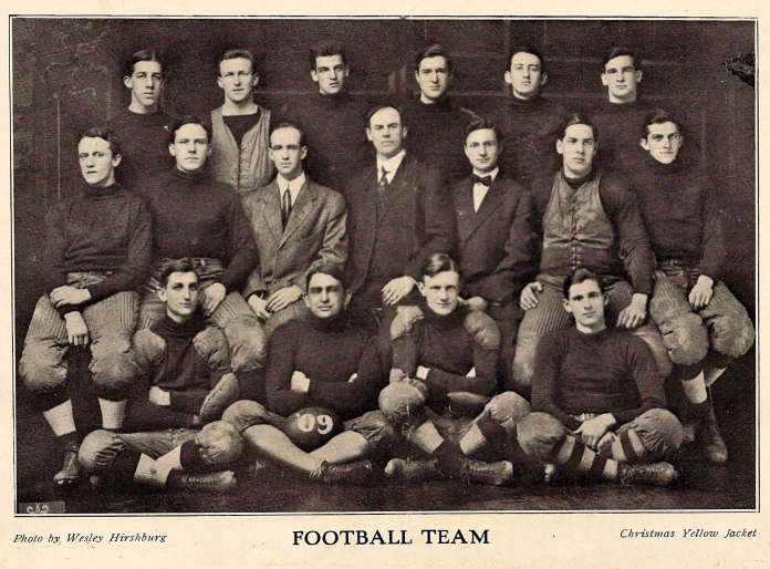 Tech Football,1909 tech football