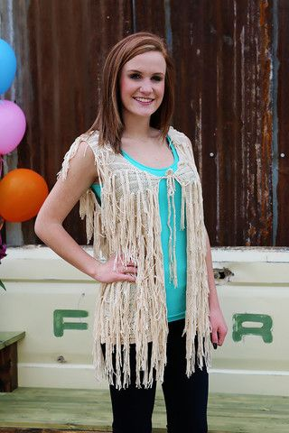 Spectacular Shag Sensation Wear Us Out Boutique Conroe/Montgomery Texas So many colors!  Such a fabulous, fun look!  Wear this fun vest with palazzo pants or with jeans and boots for a western flair!  So versatile - a must for every closet!