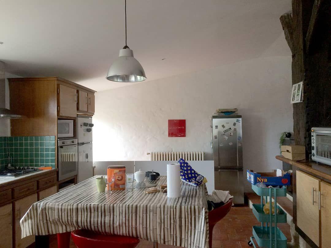 Avant Apres On Revient Sur Un Projet De Renovation De Cuisine Le Resultat En Image Creation D Un Ilot Central Optimisatio In 2020 Home Decor Home Corner Desk