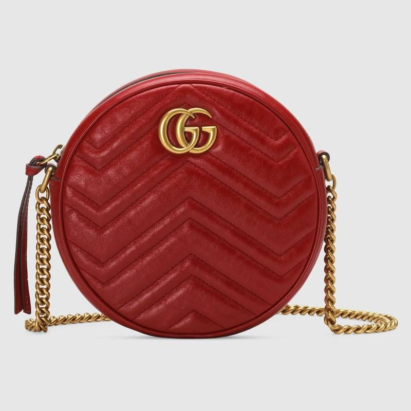 993f2447b5c6cb GG Marmont mini round shoulder bag in 2019 | Clutch & Handbags ...