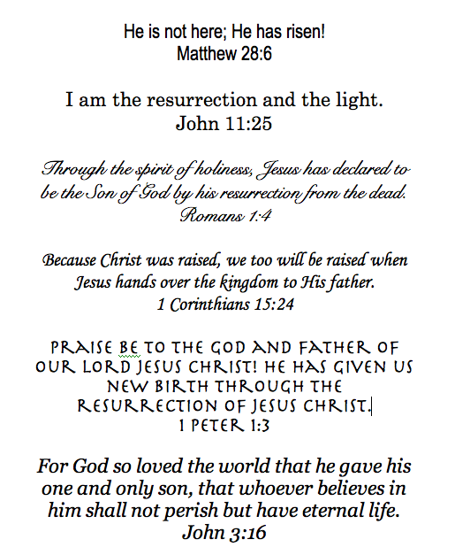 Easter Scriptures Christian Bible Quotes Pinterest – Easter Verses for Cards