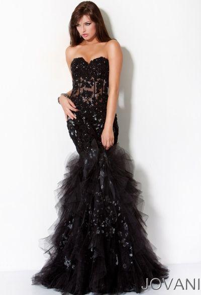 Glittery Mermaid Prom Dresses