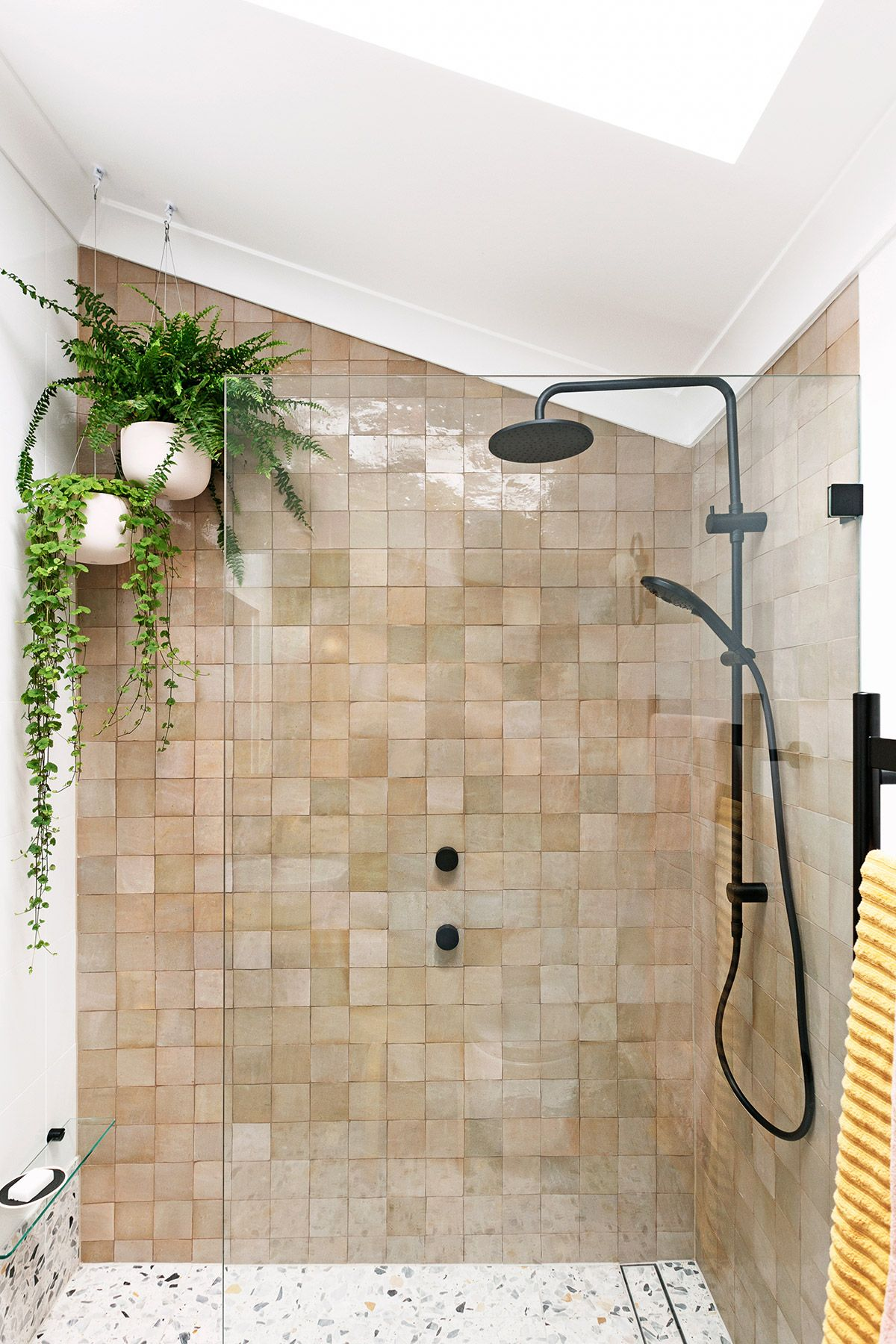 My bathroom renovation - it's all about terrazzo and Moroccan tiles