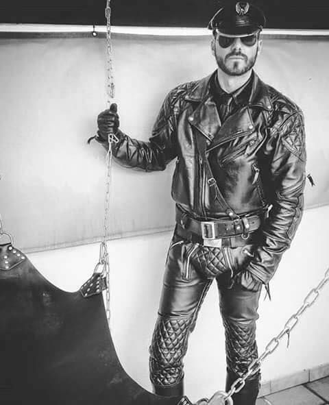 from Cruz leather top gay