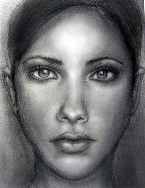 makeup drawing face - photo #43