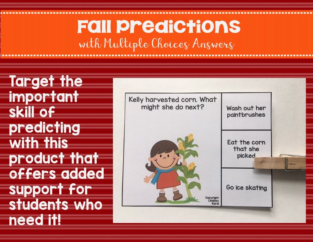 Fall Predictions With Multiple Choice Answers