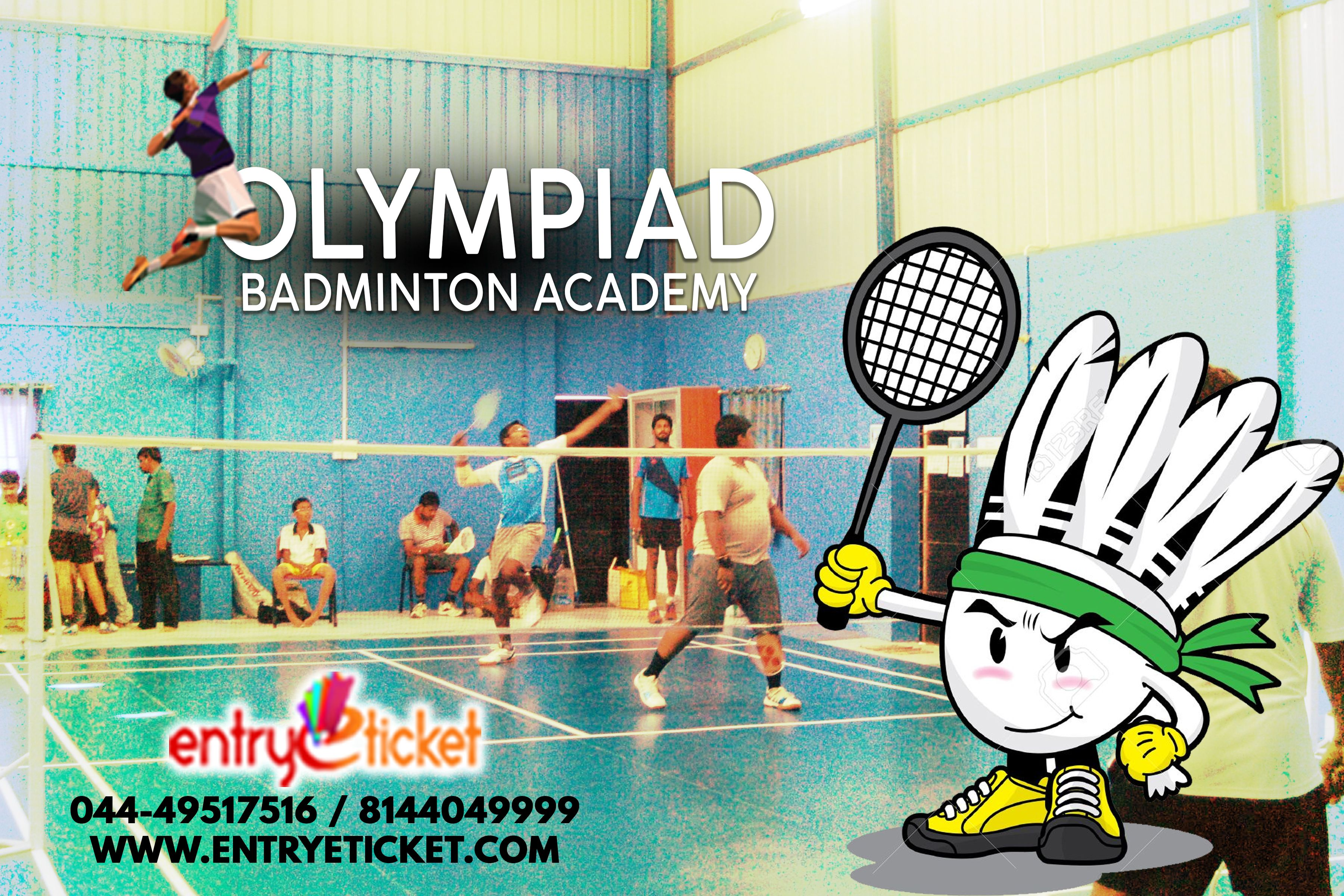 Olympiad Badminton Academy In Chennai Register Https Www Entryeticket Com Sports Olympiad Badminton Academy Badm Badminton Academy Conditioning Training