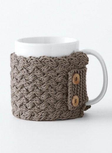 cat 13 14 n 842 cache mug mod les broderie tricot. Black Bedroom Furniture Sets. Home Design Ideas
