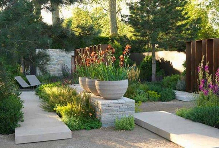 28 Beauty Tiny Yard Ideas For Best Yard Inspiration Fall Landscaping Front Yard Modern Garden Landscaping Small Garden Design