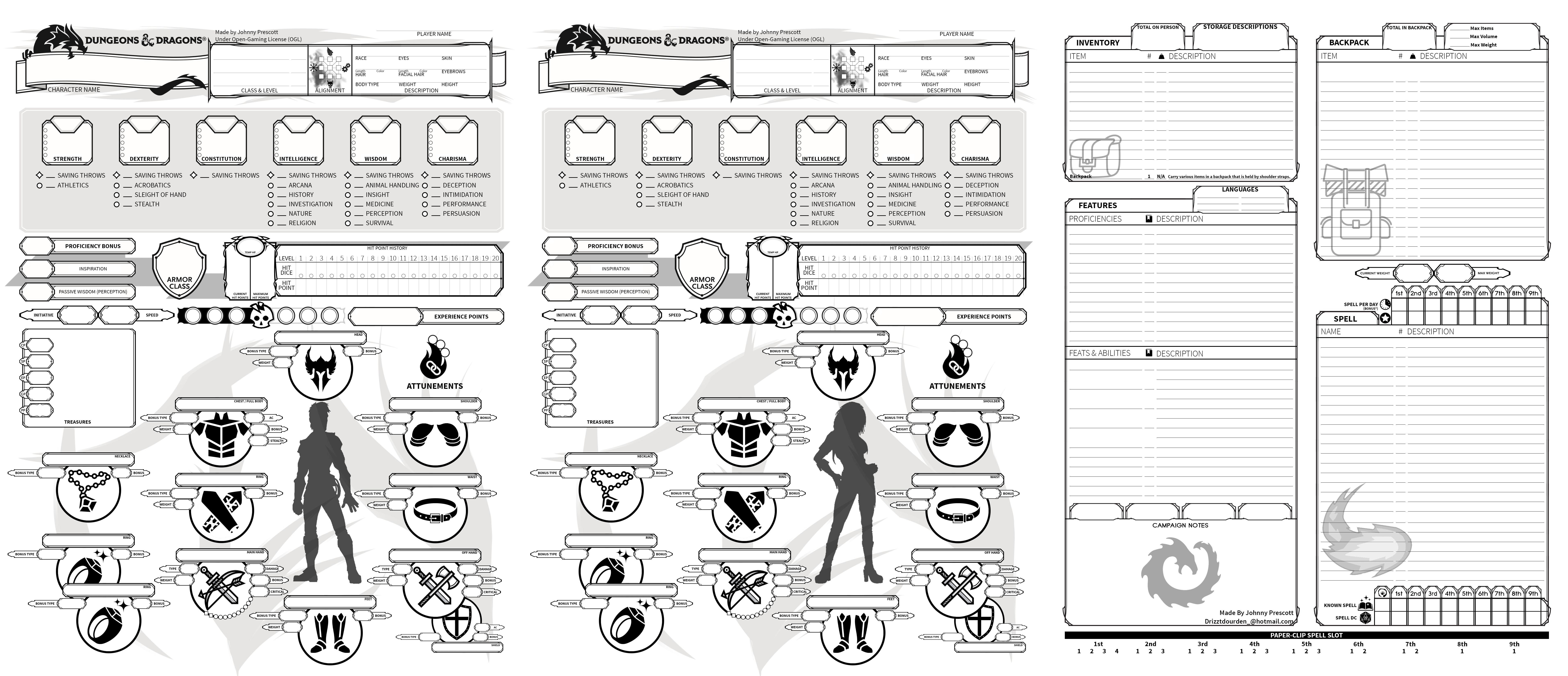 Pathfinder 2 Character Sheet Fillable