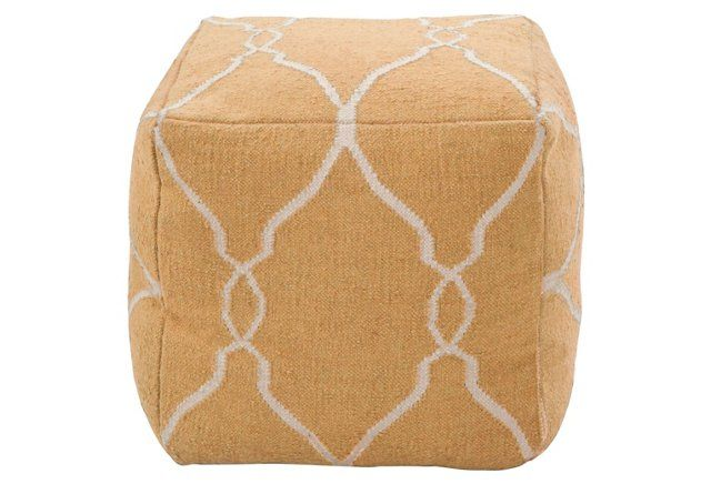 Super Stylish And Endlessly Versatile This Charming Pouf Works