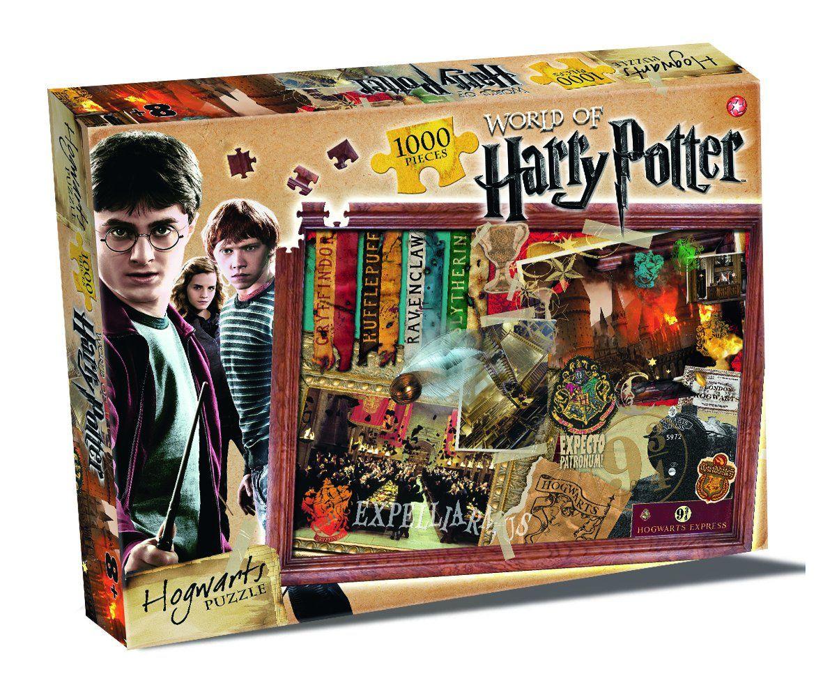 AmazonSmile: World of Harry Potter Hogwarts Puzzle 1000 Piece Jigsaw Puzzle: Toys & Games