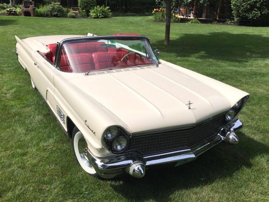 1960 Lincoln Continental Convertible Mark V Lincoln